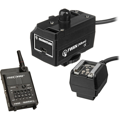 Quantum QLINK for Nikon with Freewire Receiver Kit