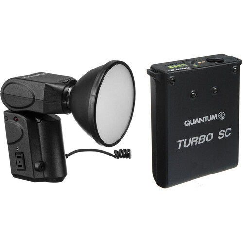 Quantum Instruments Qflash Model T5D-R Flash Kit - with Turbo SC Battery & Charger