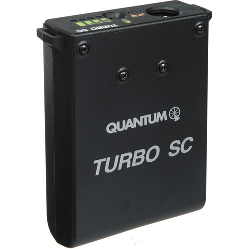 Quantum Instruments Turbo SC Battery Pack for Portable Flashes (US / Canada / Japan Plug)