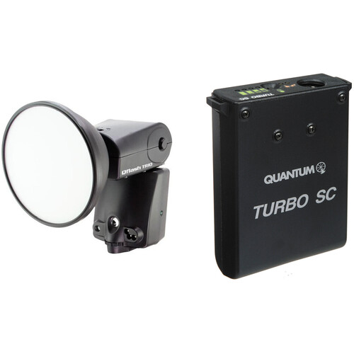 Quantum Instruments Qflash TRIO Flash Kit with Turbo SC Battery Pack for Nikon Cameras