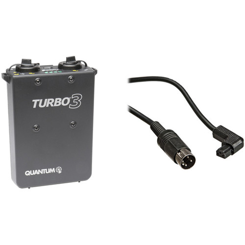 Quantum Instruments Turbo 3 Battery Pack with CD-1 Cable Kit