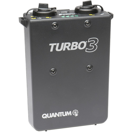 Quantum Turbo 3 Rechargeable Battery with IM-CKE Flash Cable Kit