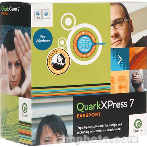 Quark QuarkXPress Passport 7 Page Layout Software for Mac and Windows