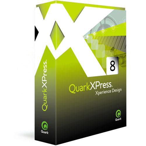 Quark QuarkXPress 8 Page Layout Software for Mac and Windows (Upgrade)