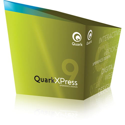 Quark QuarkXPress 9 Software for Mac & Windows (Upgrade)