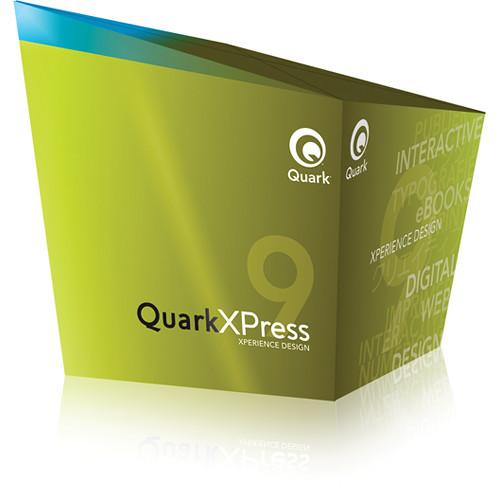 Quark QuarkXPress 9 Software for Mac & Windows (Upgrade)