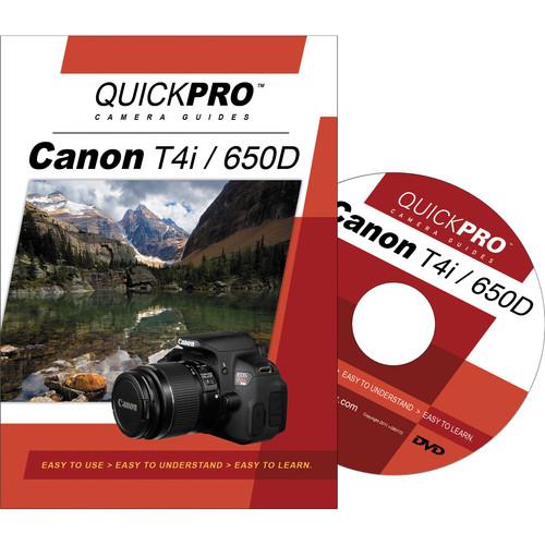 QuickPro Training DVD: Canon T4I