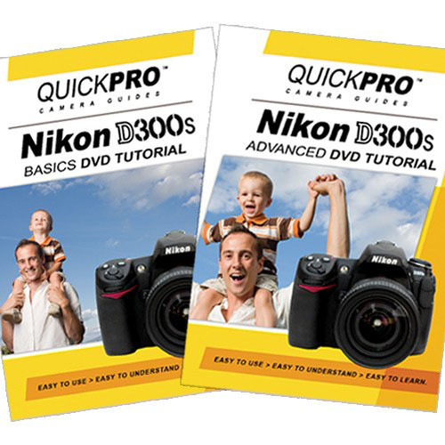 QuickPro Training DVD: Nikon D300s SLR Digital Camera