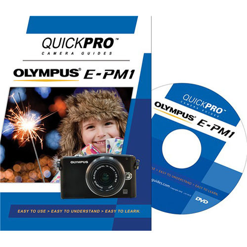 QuickPro Training DVD: Olympus E-PM1