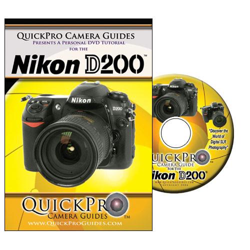 QuickPro DVD: Nikon D200 Digital SLR Camera