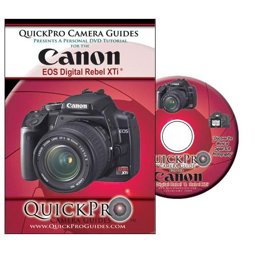 QuickPro DVD: Canon EOS Digital Rebel XTi Digital SLR Camera