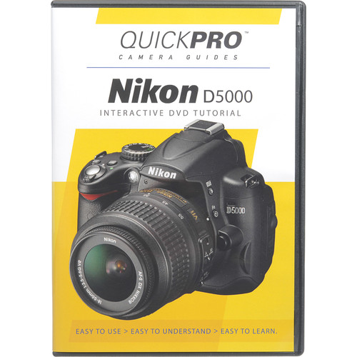 QuickPro Training DVD: Nikon D5000