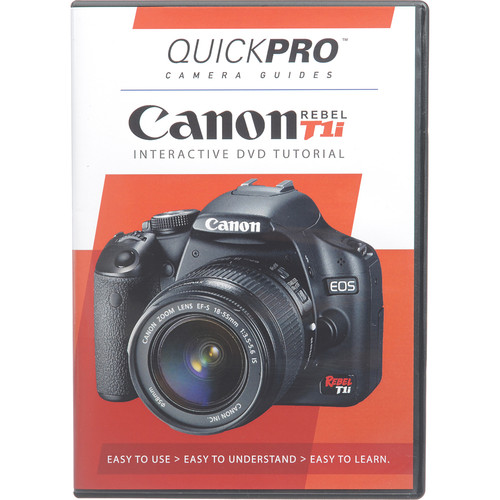QuickPro Training DVD: Canon EOS Rebel T1i
