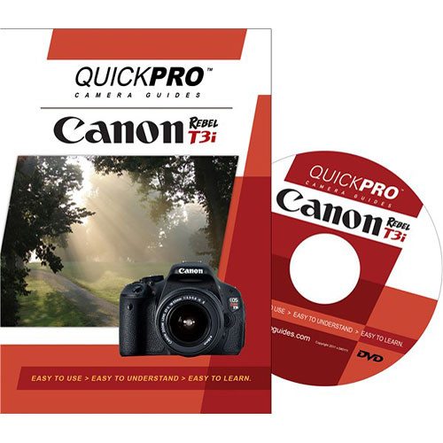 QuickPro Training DVD: Canon EOS T3i