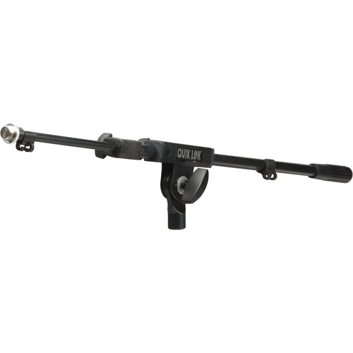 QuikLok A386BK Telescoping Boom Arm (Black)