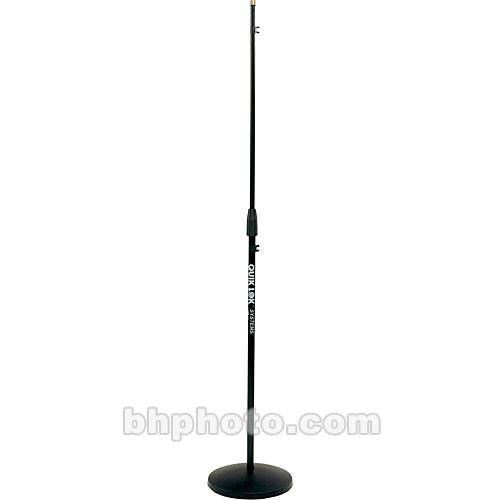 "QuikLok A-399BK 35.5-61.5"" Mic Stand/Round Base (Black)"