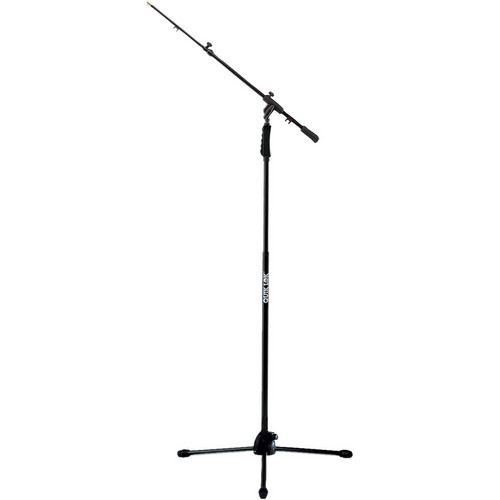 QuikLok A499-BK Professional Mic Stand with Boom