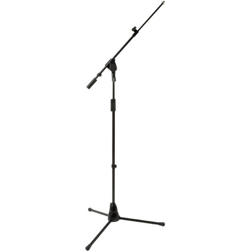 QuikLok A-504BK Professional Mic Stand with Telescopic Boom