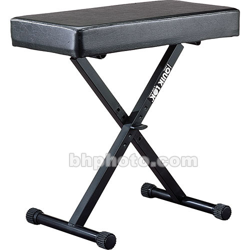 QuikLok BX-14 Height Adjustable Large Keyboard Bench with Thick Cushion