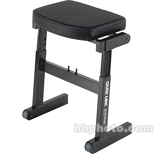 QuikLok BZ-7 Rapid Set-up Height Adjustable Seat for Musician
