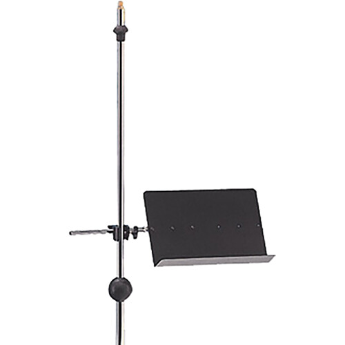 QuikLok MS303 Clamp-on Sheet Music Stand (Black)
