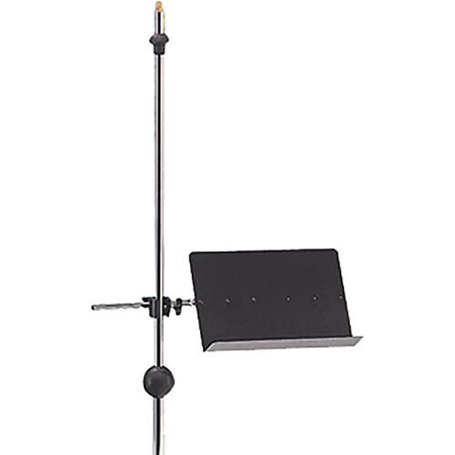 QuikLok MS303 Clamp-on Sheet Music Stand (Black)