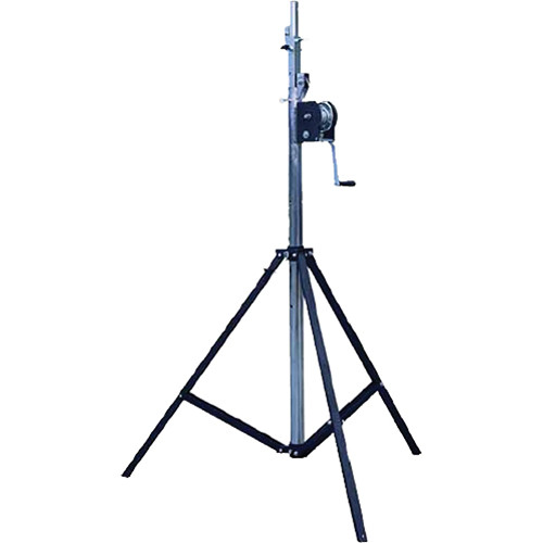 QuikLok SLS-13 Heavy-Duty Steel Crank-Up Lighting / Truss Stand (13')