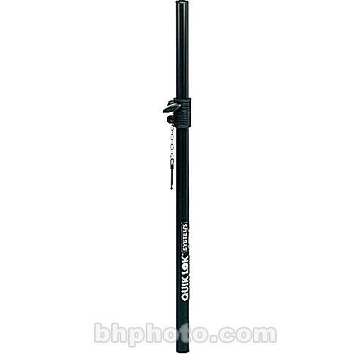 QuikLok S-203 - Adjustable Subwoofer-Mounted Speaker Pole