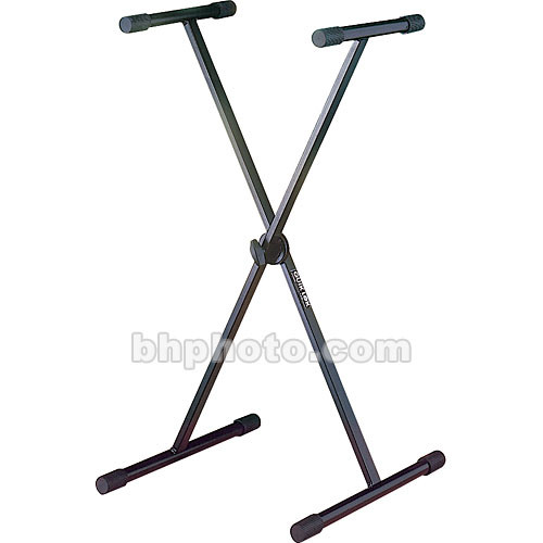 QuikLok T-10B Single-Tier Single-Brace Keyboard Stand