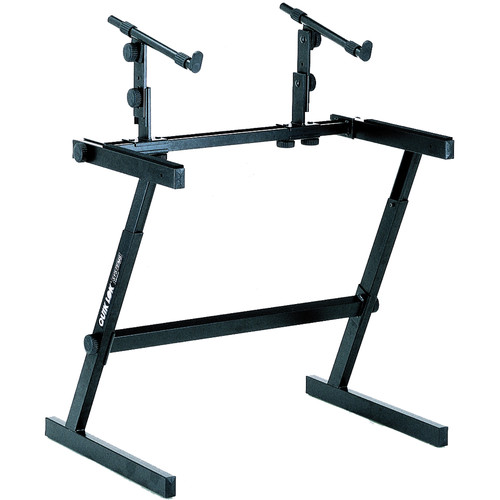 "QuikLok Z-726L Two Tier ""Z"" Stand Extra-wide Keyboard Stand"
