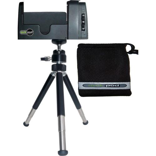 Quik Pod Quik Pod Mobile+ Smartphone Adapter w/ Mini Tripod Legs