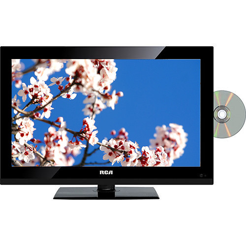 """RCA DECK18DR 18.5"""" AC/DC LED TV With DVD Player"""