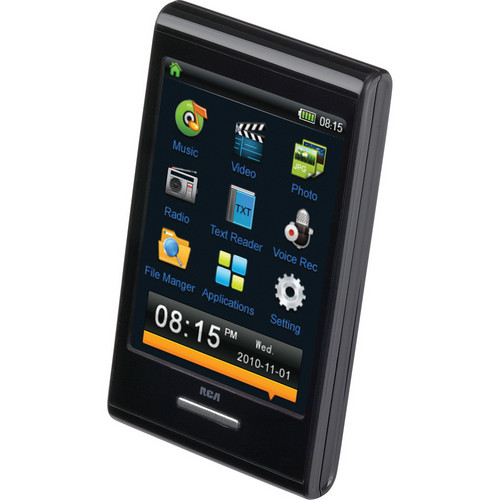 """RCA 8GB M7208 Media Player with 2.8"""" Touch Screen Display"""