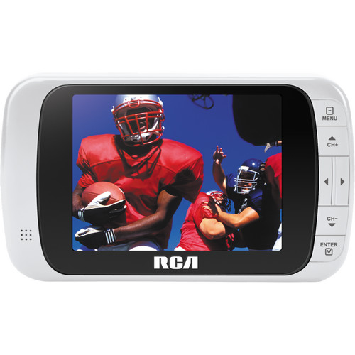 "RCA 3.5"" LED Portable Digital TV (White)"