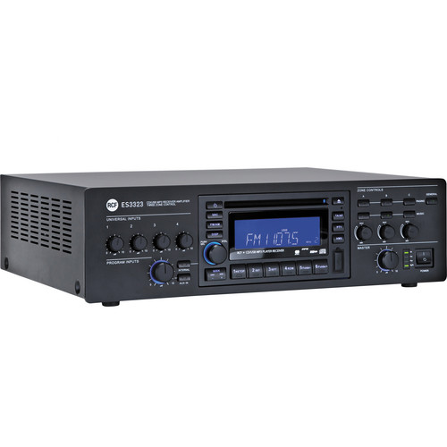 RCF ES 3323 3-Zone Receiver / Mixer Amplifier & CD-USB / MP3 Digital Player