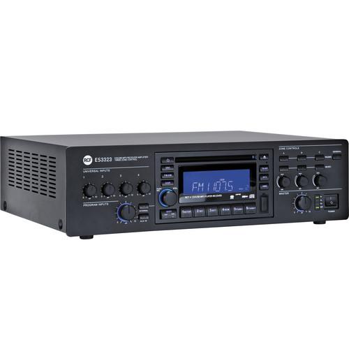 RCF ES 3323 3-Zone Receiver / Mixer Amplifier & CD-USB / MP3 Digital Player