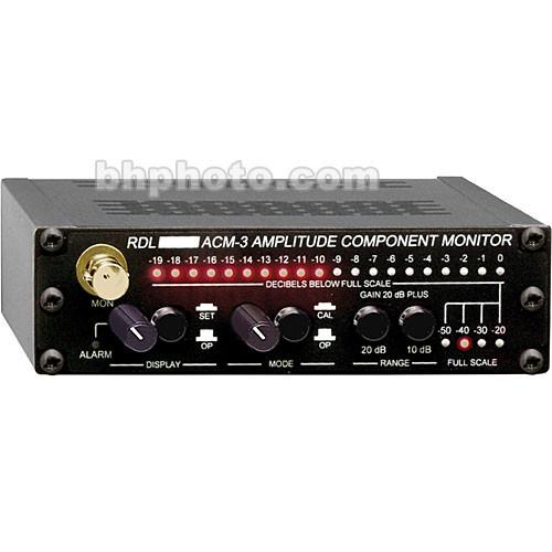 RDL ACM-3 AM Noise Monitor Upgrade