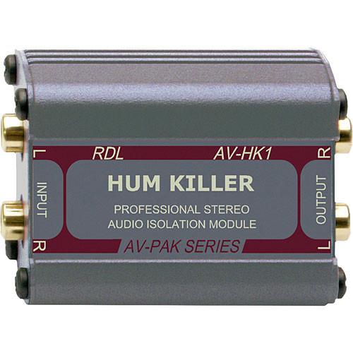 RDL AV-HK1 Hum Killer Transformer