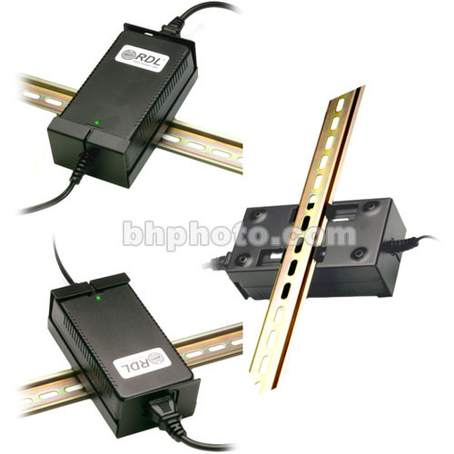 RDL DRA-35P - DIN Rail Adapter for RDL PS-24U2 Power Supply