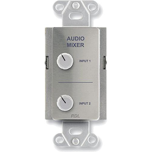 RDL DS-RC2 Audio Mixing Remote Control (Stainless Steel)