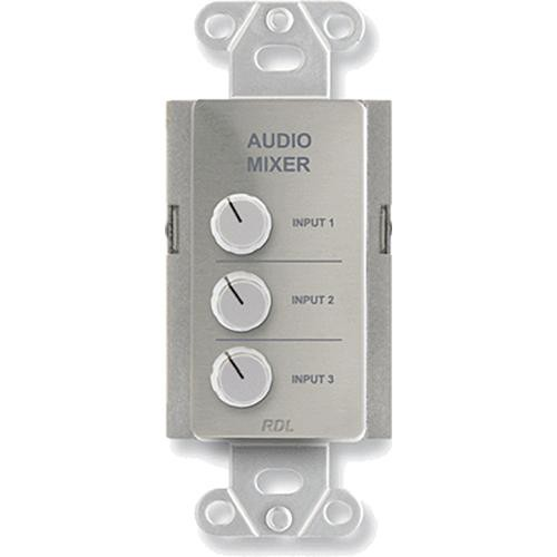 RDL DS-RC3 Audio Mixing Remote Control (Stainless Steel)