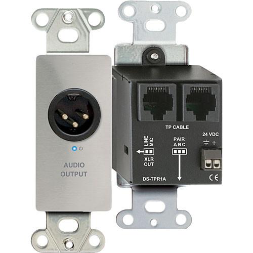 RDL DS-TPR1A Active Single Pair RJ45 Receiver Module (Silver)