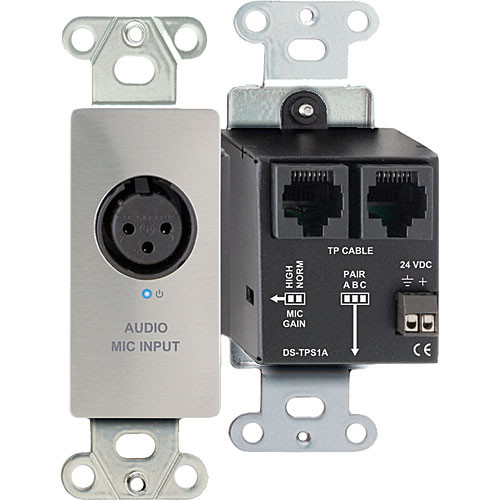 RDL DS-TPS1A Single Pair RJ45 Sender Module (Silver)