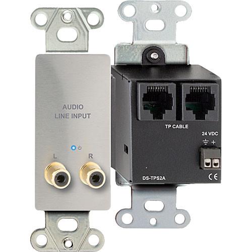 RDL DS-TPS2A Active Dual Pair RJ45 Sender Module (Silver)