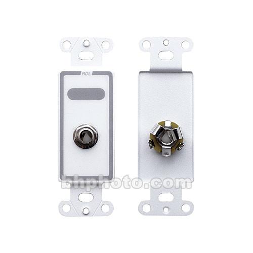 "RDL D-1/4F Female 1/4"" Phone Jack on D Plate (Solder Type)"