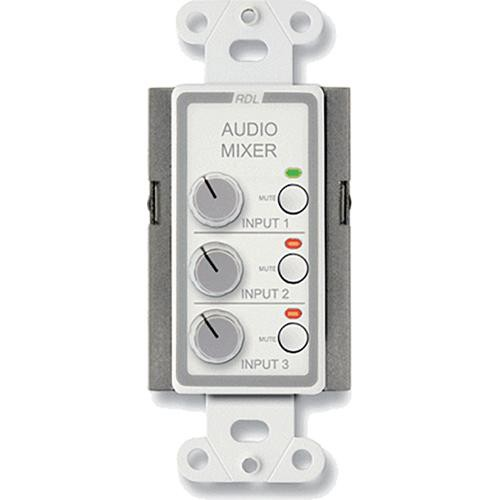 RDL D-RC3M Audio Mixing Remote Control with Muting (White)