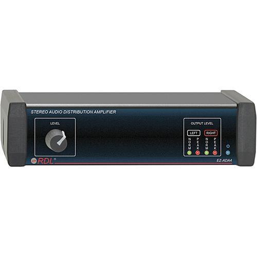 RDL EZ-ADA4 Stereo Audio Distribution Amplifier