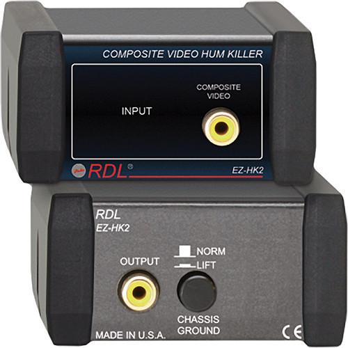 RDL EZ-HK2 Composite Video Hum Killer