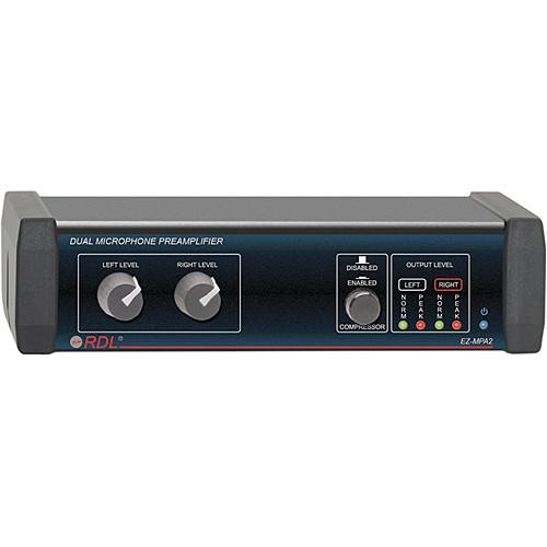 RDL EZ-MPA2 - Microphone Preamp