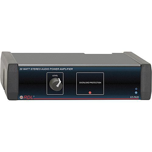 RDL EZ-PA20 20 Watt Stereo Power Amplifier